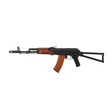 AK74 TACTICAL LONG SCARRELLANTE FULL METAL-LEGNO