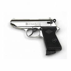Pistola a Salve BRUNI NEW POLICE cal. 8mm Nichel